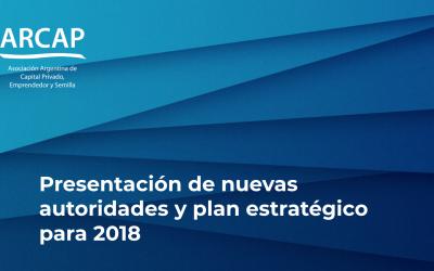 Presentación de nuevas autoridades y plan estratégico para 2018
